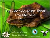 Ciclo de Vida de las Ranas. Frog Life Cycle (Spanish)