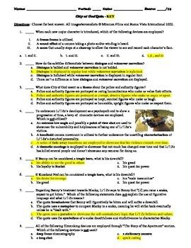 City of God Film (2002) 15-Question Multiple Choice Quiz