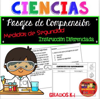Ciencias Medida de Seguridad Grados K-1 / Lab Safety in Spanish