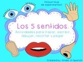 Ciencias Mis Cinco Sentidos en Espanol Five Senses Science