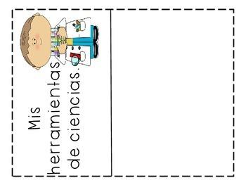 Ciencias Mis herramientas en Español Spanish Science Tools