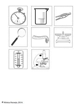 Ciencias:Método Científico. Lap-folder.