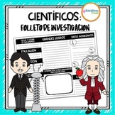 Científicos: Folleto de Investigación
