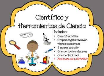 Cientificos y sus Herramientas Scientist and their Tool