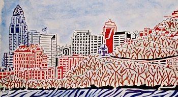 Cincinnati Maze (color version)