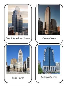 Cincinnati Theme Building Cards
