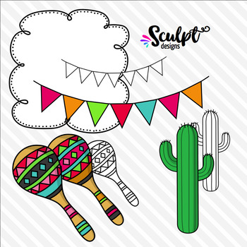 Cinco De Mayo Clip Art ~ Design Kit