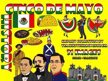 Cinco De Mayo-A Historical Clip Art Collection