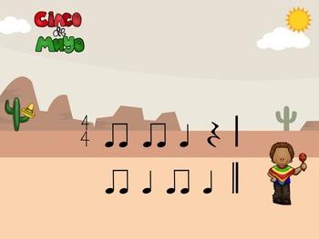 Cinco De Mayo - A Rhythm Game for Practicing Ta, Ti-Ti  and Z (2 bars)