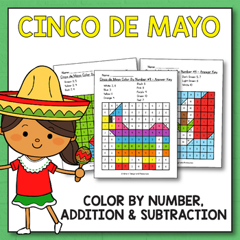 Cinco De Mayo Activities for Kindergarten - Cinco De Mayo Math Activities
