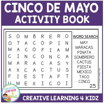Cinco De Mayo Activity Cut & Paste Book