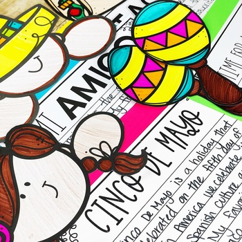 Cinco De Mayo Activity / Fiesta Writing Craftivity
