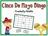Cinco De Mayo Bingo-Cinco De Mayo Themed Bingo Game