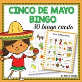Cinco De Mayo Bingo Game - Cinco de Mayo Activities Kindergarten