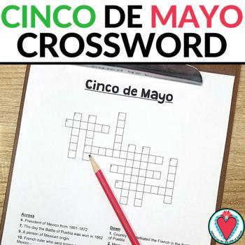 Cinco De Mayo CROSSWORD (Spanish / English)