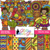 Cinco De Mayo Clip Art: Spanish Holiday Graphics {Glitter Meets Glue}