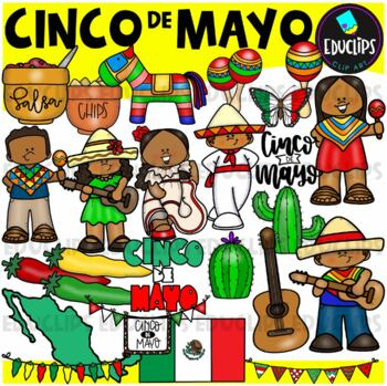Cinco De Mayo Clip Art Bundle {Educlips Clipart}