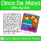 Cinco De Mayo Color By Number Addition to 10
