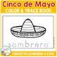 Cinco De Mayo Color & Trace Book