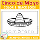 Cinco De Mayo Color & Trace Book