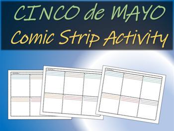 Cinco De Mayo Comic Strip Activity