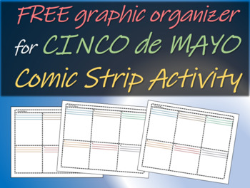 Cinco De Mayo Comic Strip Activity Worksheet