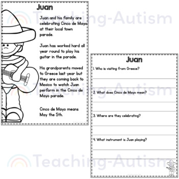 Cinco De Mayo Comprehension