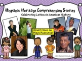 Cinco De Mayo Comprehension Stories for..Hispanic Heritage & Latinos in History)