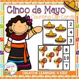 Cinco De Mayo Counting Clip Cards