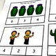 Cinco De Mayo Counting Task Cards, Math Activity