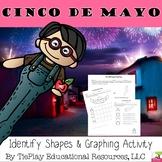 Cinco De Mayo Day Pattern Blocks Graphing Math Worksheet Packet No Prep