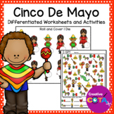 Cinco De Mayo Differentiated Worksheets and Activities