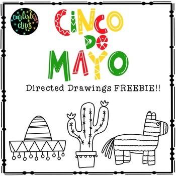 Cinco De Mayo Directed Drawing FREEBIE