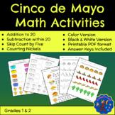 Cinco De Mayo Elementary Math Activities