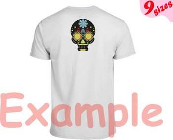 Cinco De Mayo Embroidery Design 4x4 5x7 hoop Fiesta Mexico skull head 129b
