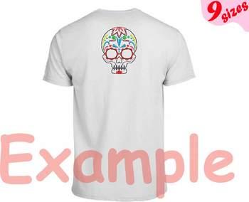 Cinco De Mayo Embroidery Design outline Fiesta Mexico skull Muertos199b
