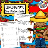 Cinco de Mayo Fine Motor Skills Worksheets