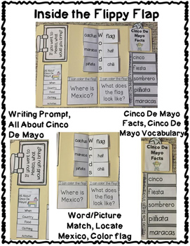 Cinco De Mayo Activities Interactive Notebook Lapbook