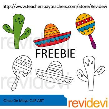 Cinco De Mayo Free Clip Art