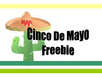 Cinco De Mayo **Freebie**