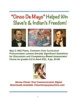 Cinco De Mayo Helped Win Freedom!