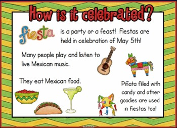 Cinco De Mayo Holiday SMARTBOARD Lesson