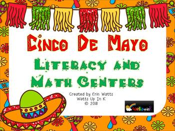 Cinco De Mayo Literacy and Math Centers