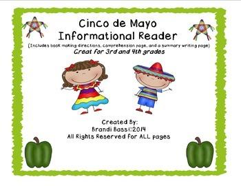 "Cinco De Mayo "" Make and Take"" Informational Book"