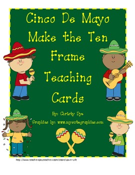 Cinco De Mayo Make the Ten Frame Teaching Cards