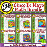 Cinco De Mayo Math Activity Bundle | Color by Code