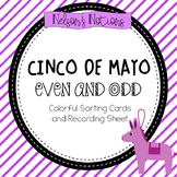 Cinco De Mayo - Math Activity {Even and Odd Sort}