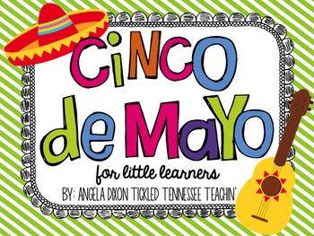 Cinco De Mayo Math & English Language Arts