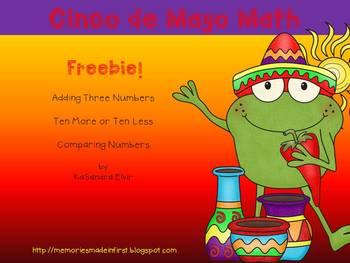 Cinco De Mayo Math Freebie