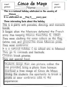 Cinco De Mayo ! Mexican Holiday !